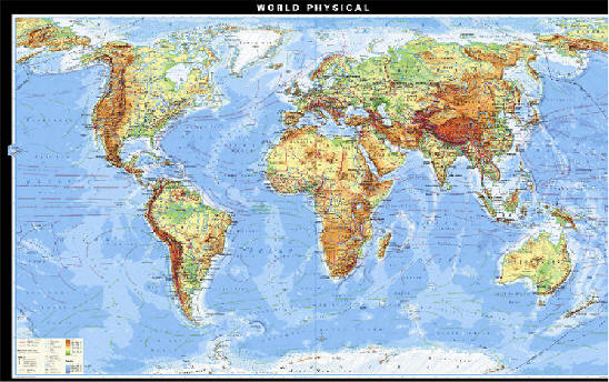 Drralph 11m geography there are two types of maps one can use to study geography political and physical gumiabroncs Image collections